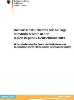 Die wirtschaftliche und soziale Lage der Studierenden in der Bundesrepublik Deutschland 2009