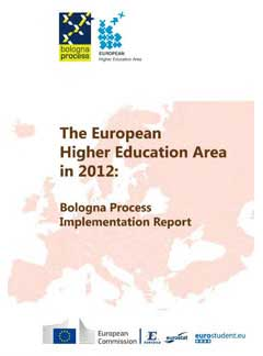 The European higher education area in 2012: Bologna process implementation report