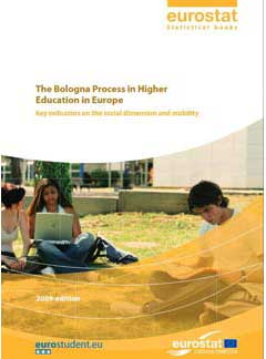 The Bologna Process in Higher Education in Europe. Key Indicators on the social dimension and mobility