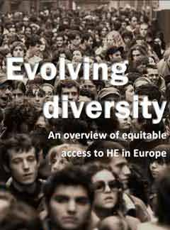 Evolving diversity - An overview of equitable access to Higher Education in Europe<br>