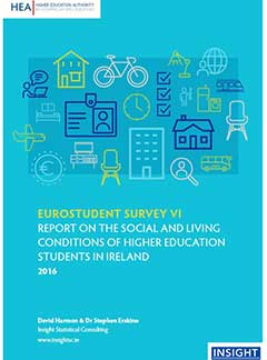 EUROSTUDENT survey VI.  Report on the social and living conditions of higher education students in Ireland  2016