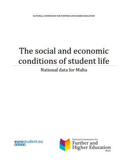 Social and economic conditions of student life in Malta <br/> National data for Malta-EUROSTUDENT IV (2008-2011)