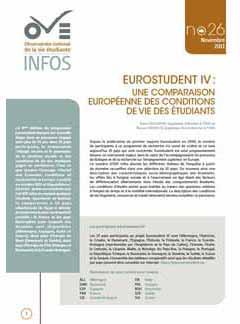 EUROSTUDENT IV.  Une comparaison européenne des conditions de vie des étudiants