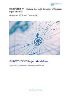 EUROSTUDENT IV Project guidelines