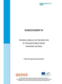 EUROSTUDENT IV Technical manual for the execution of the EUROSTUDENT survey in national settings