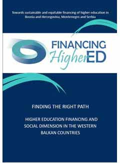 Finding the right path - Higher education financing and social dimension in the Western Balkan countries