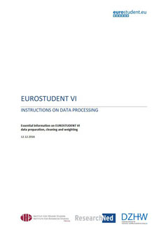 EUROSTUDENT VI. Instructions on data processing