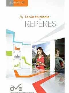 La vie étudiante - Repères - Edition 2011