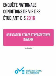 Orientation, stages et perspectives d'avenir