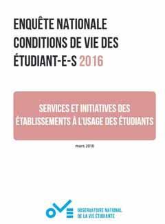 Services et initiatives des établissements à l'usage des étudiants