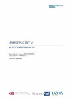 EUROSTUDENT VI. Questionnaire handbook