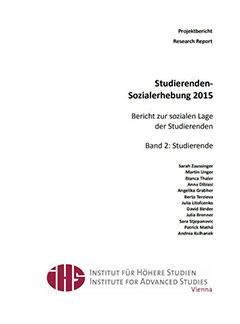 Studierenden-Sozialerhebung 2015. Bericht zur sozialen Lage der Studierenden. Band 2 Studierende.