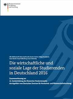 Die wirtschaftliche und soziale Lage der Studierenden in Deutschland 2016