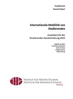 Internationale Mobilität von Studierenden.  Zusatzbericht der Studierenden-Sozialerhebung 2015